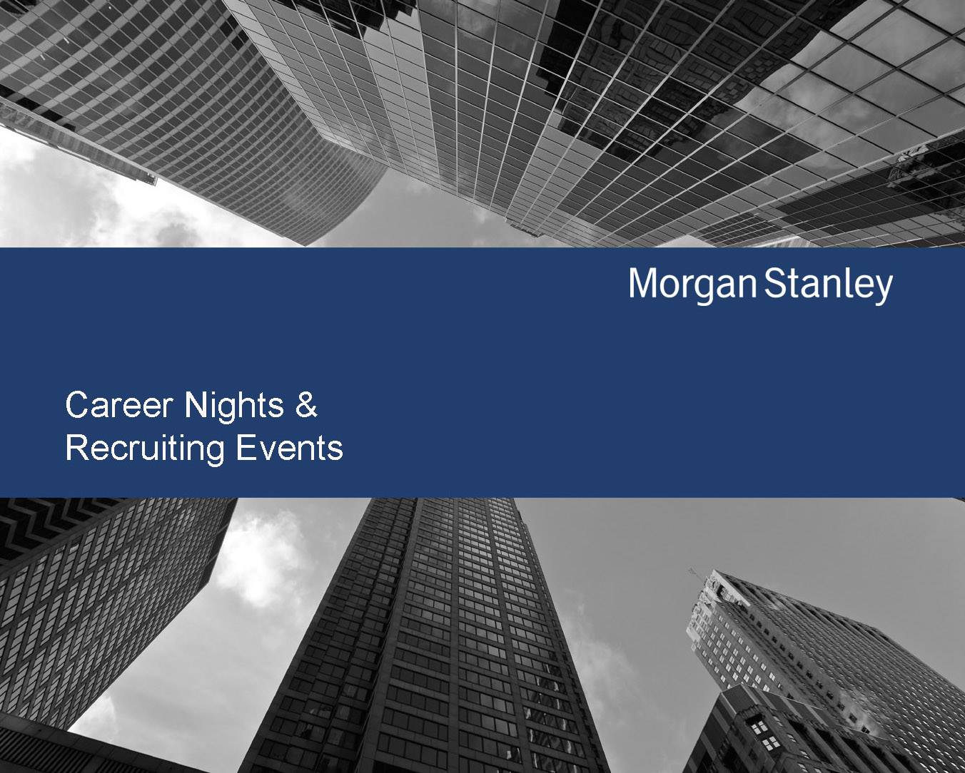 Morgan Stanley Career Presentation at CEU | Career Services Office